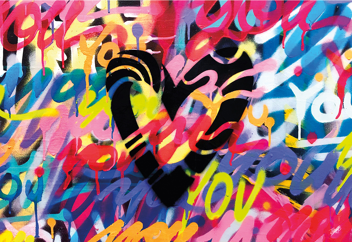 Love You By Jason Naylor Graphics / Illustration Jigsaw Puzzle