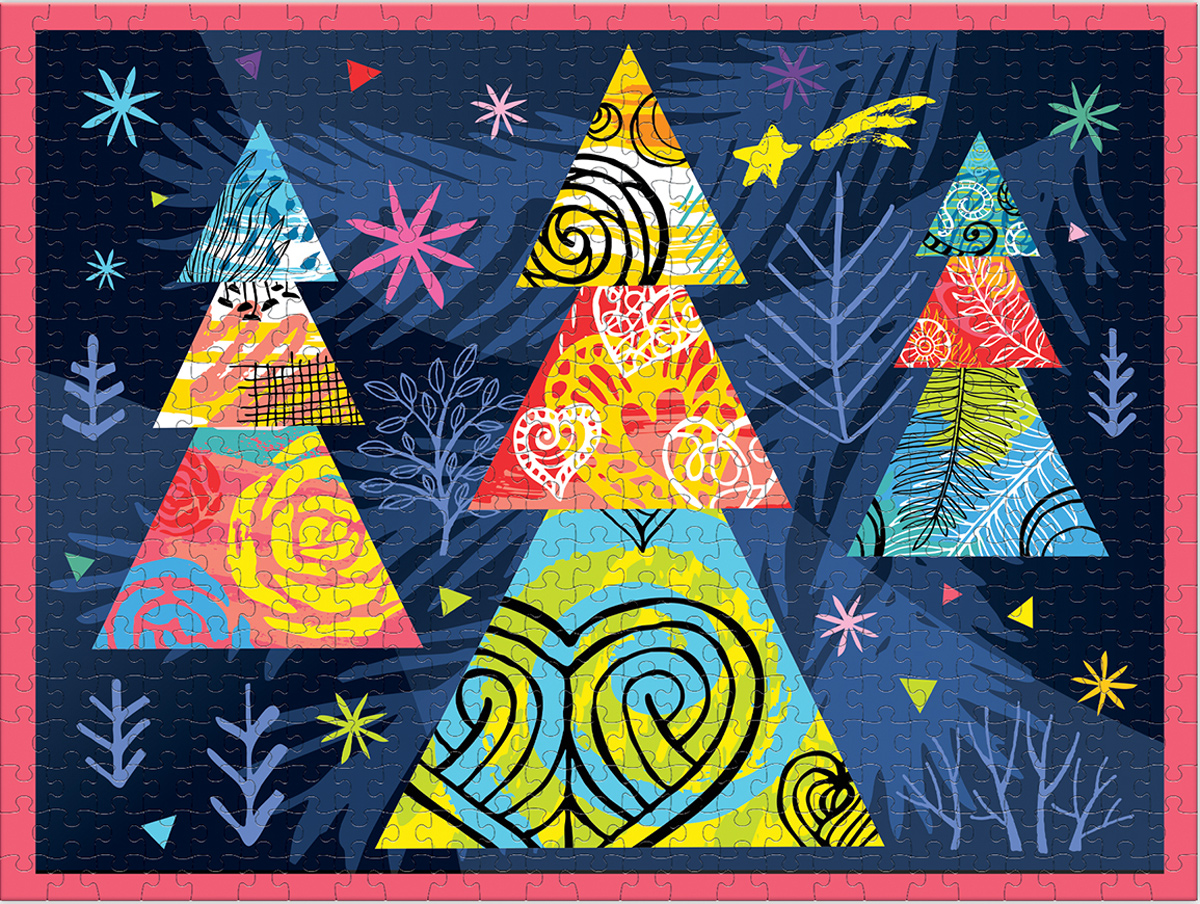 Deco-Rate The Tree Christmas Jigsaw Puzzle