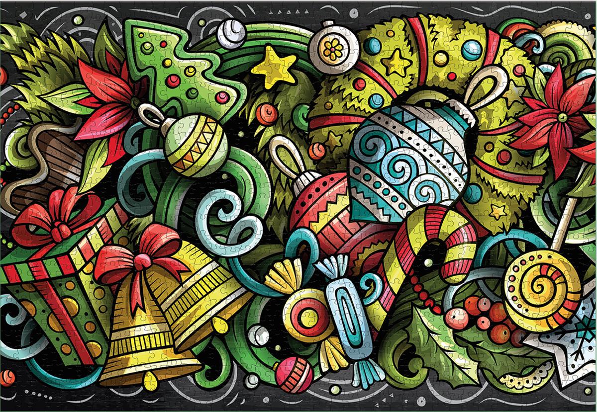 Festive Décor Christmas Jigsaw Puzzle