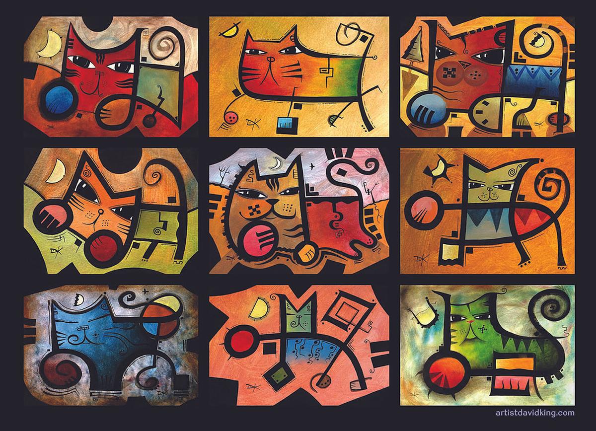 Seasonal Cats Cats Jigsaw Puzzle