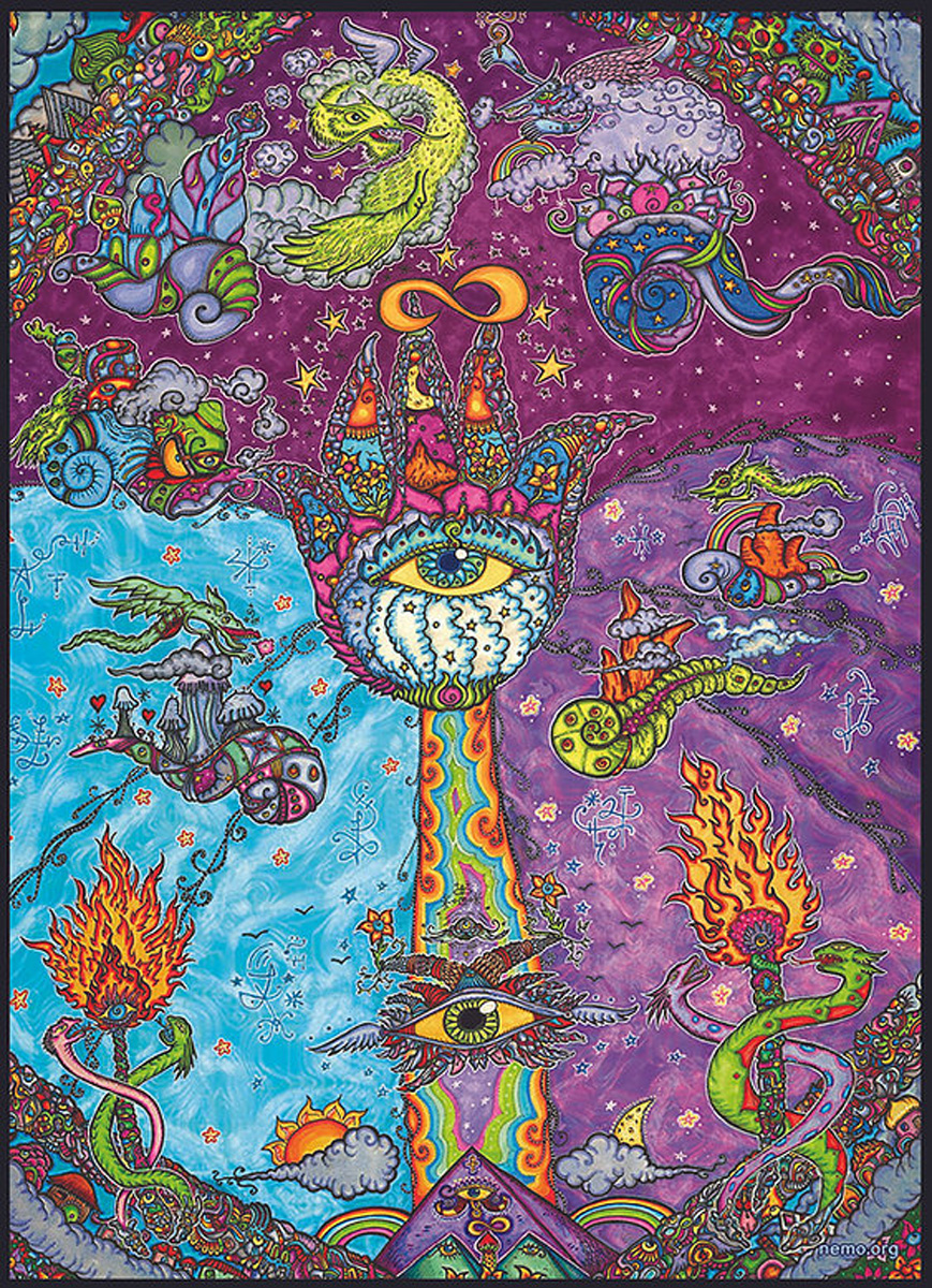 Dragon Altar Graphics / Illustration Jigsaw Puzzle
