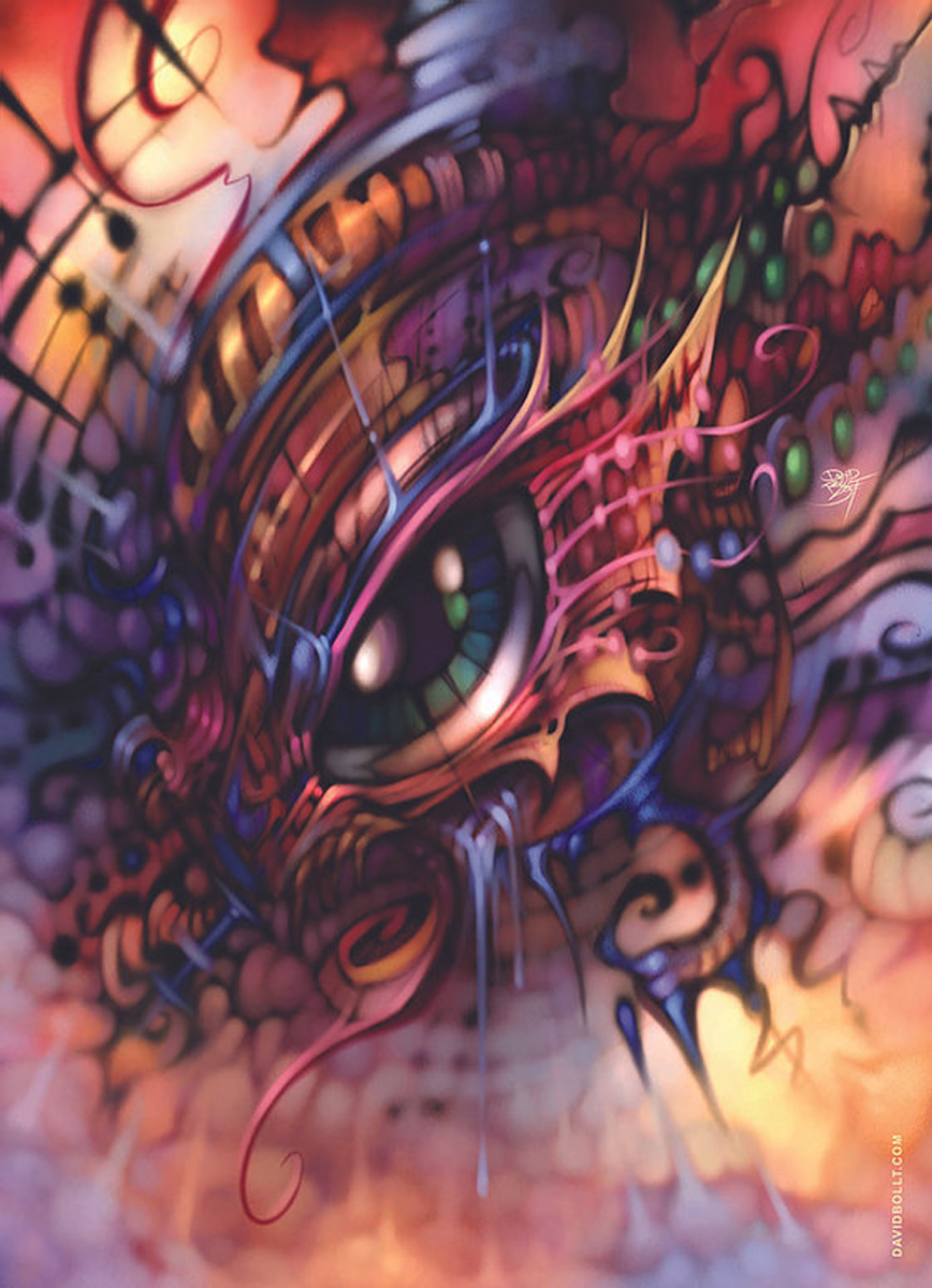 Eye of the Storm Graphics / Illustration Jigsaw Puzzle