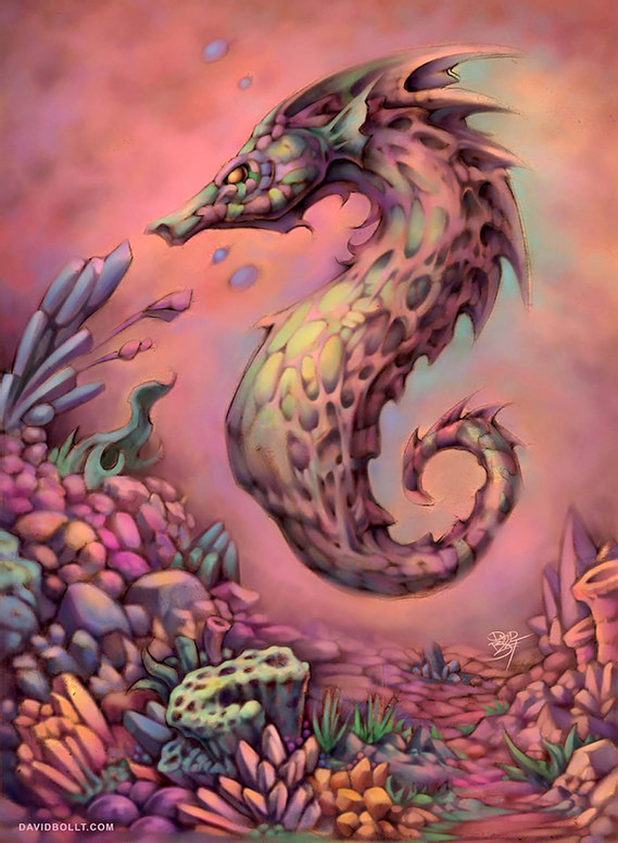 Seahorse Under The Sea Jigsaw Puzzle