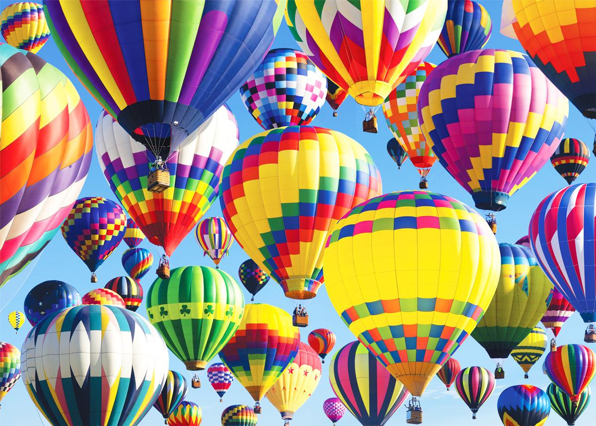 Beautiful Balloons Balloons Jigsaw Puzzle