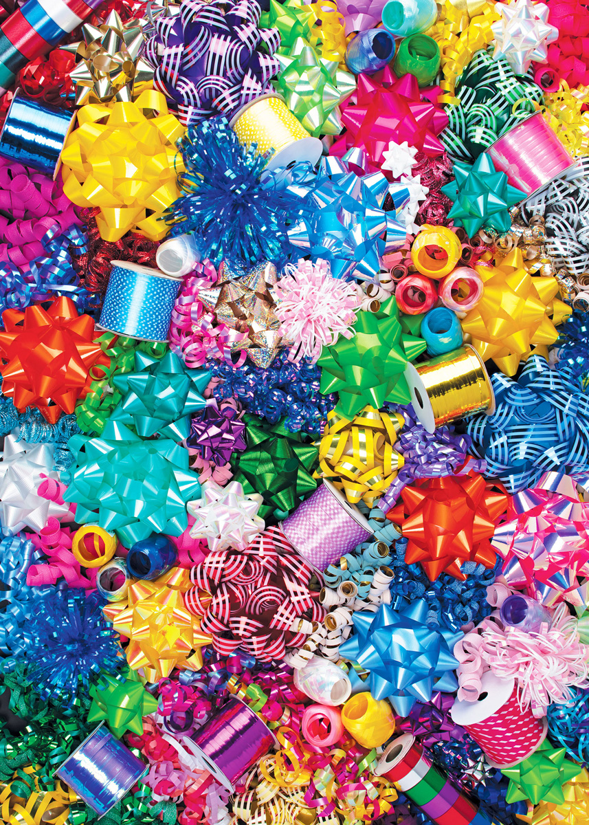 Ribbons and Bows Everyday Objects Jigsaw Puzzle