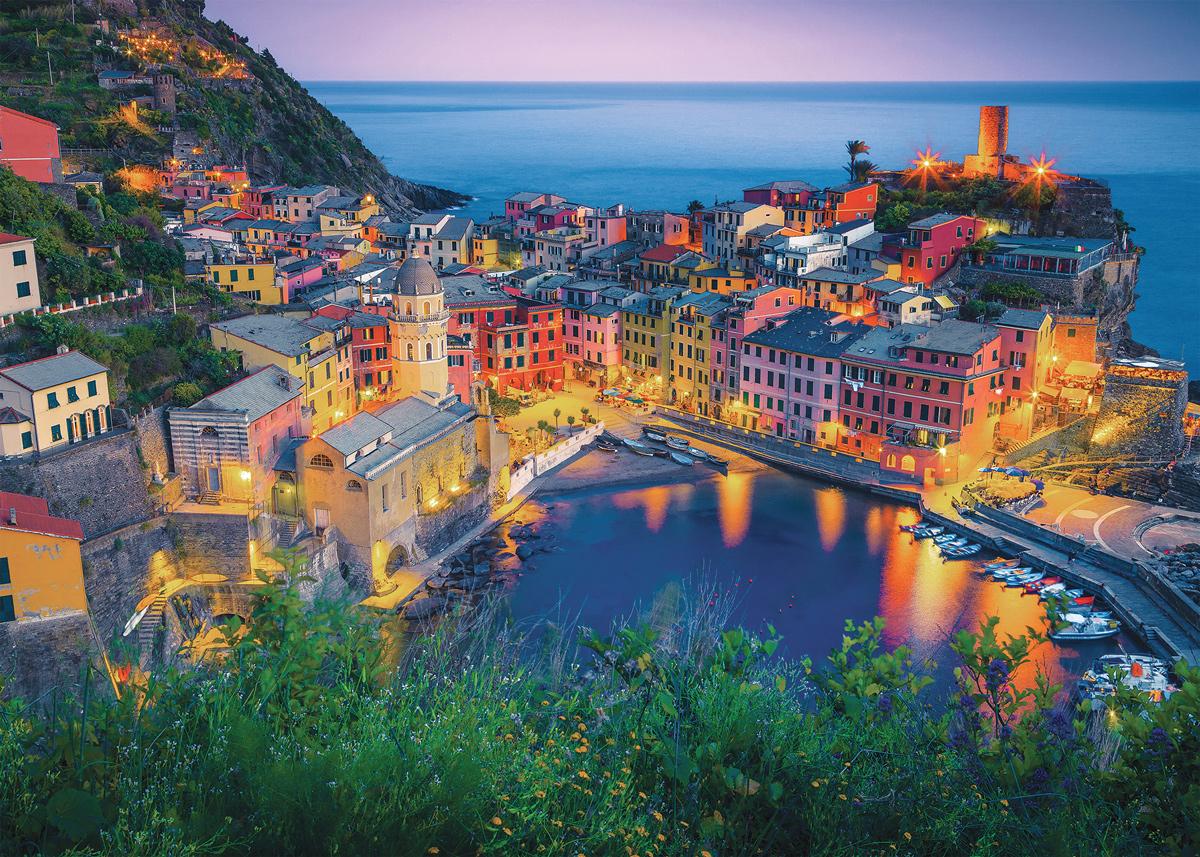 Italian Sunset Italy Jigsaw Puzzle
