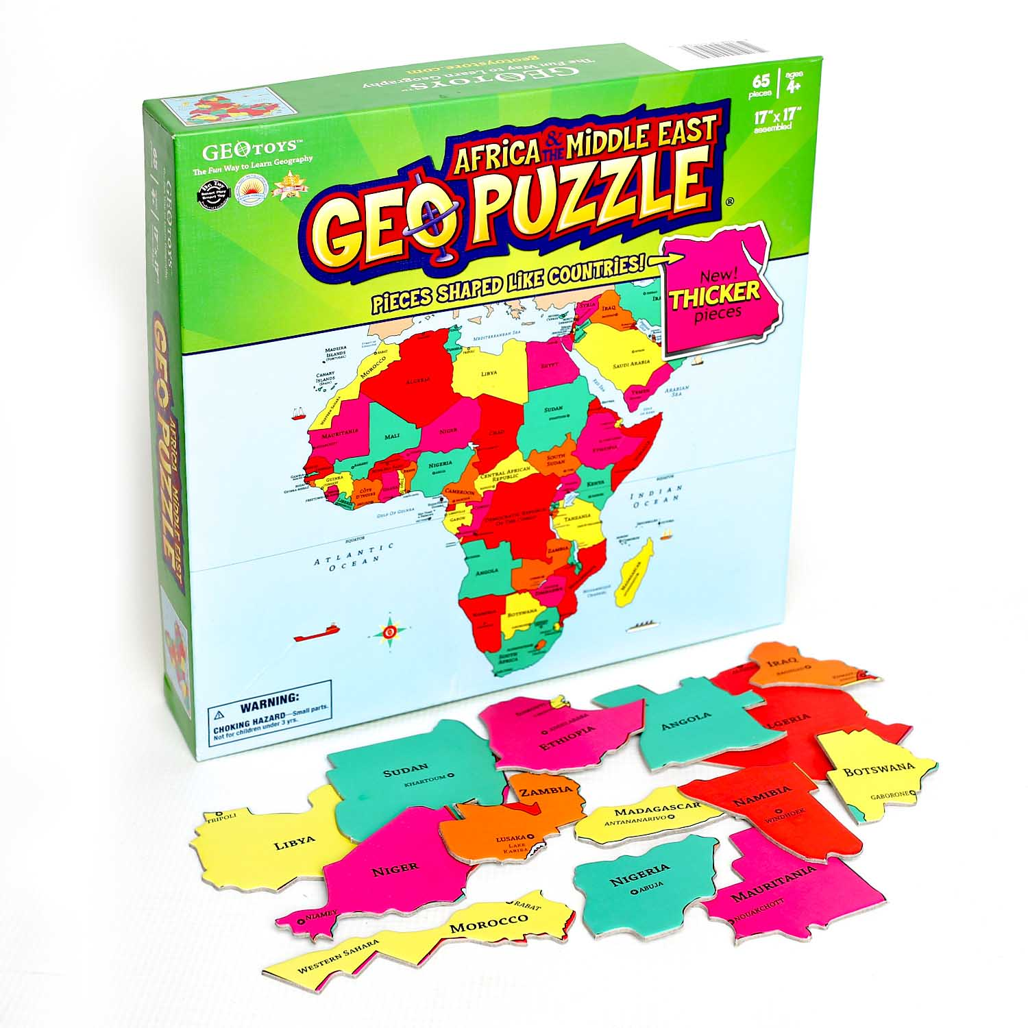 Africa Maps / Geography Jigsaw Puzzle