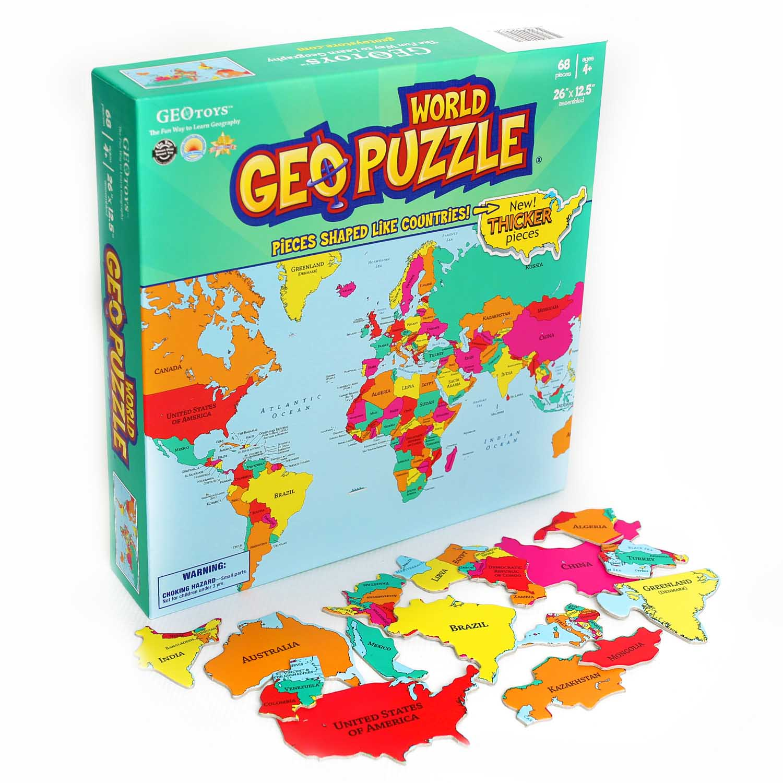 World Maps / Geography Jigsaw Puzzle