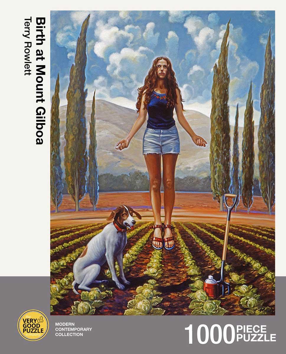 Birth at Mount Gilboa Landscape Jigsaw Puzzle
