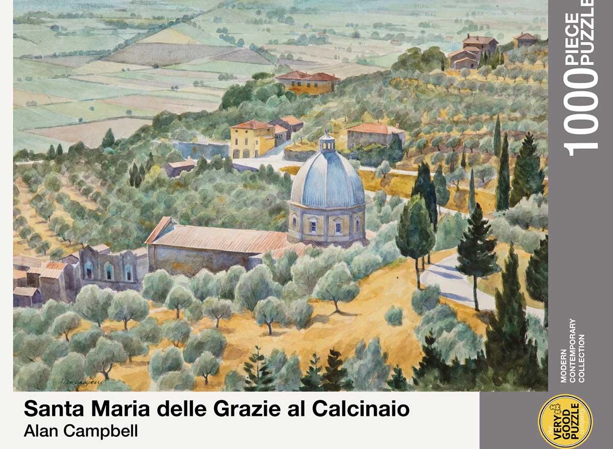 Santa Maria delle Grazie al Calcinaio Cultural Art Jigsaw Puzzle