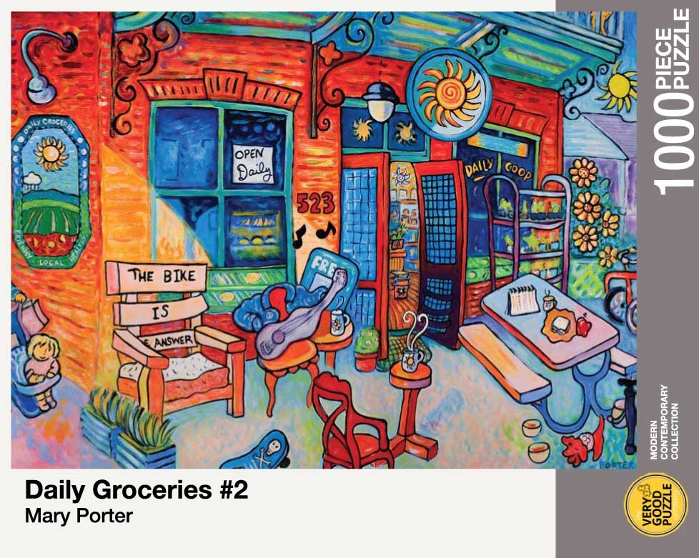 Daily Groceries #2 Shopping Jigsaw Puzzle