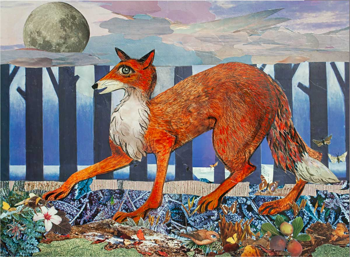 The Fox Went Out on a Chilly Night Animals Jigsaw Puzzle