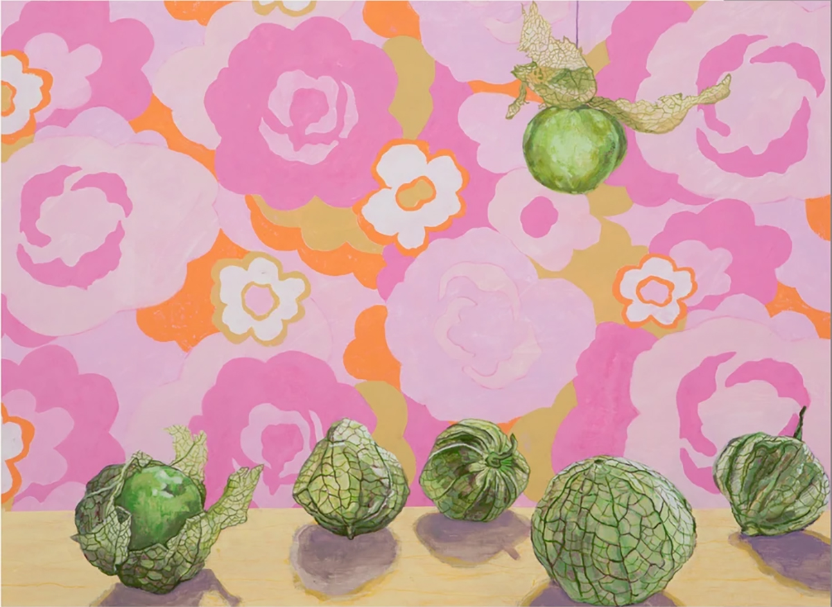 Six Tomatillos Abstract Jigsaw Puzzle