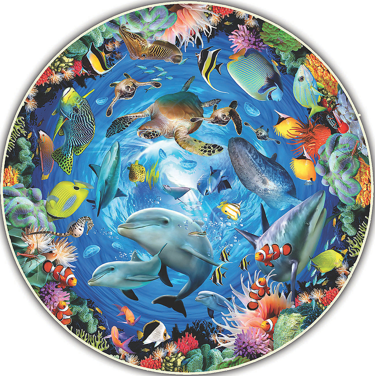 Ocean View Under The Sea Jigsaw Puzzle