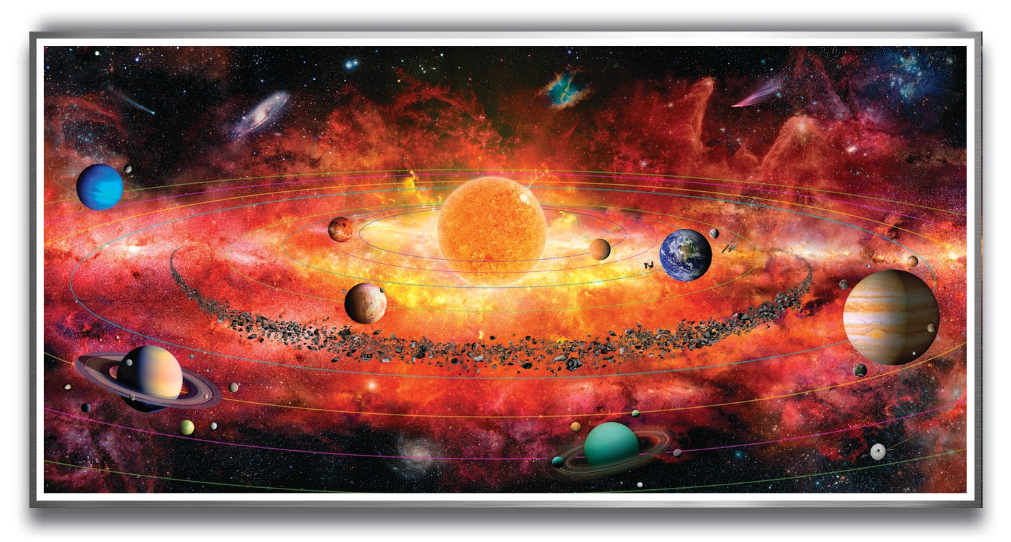 The Solar System Puzzle Space Jigsaw Puzzle