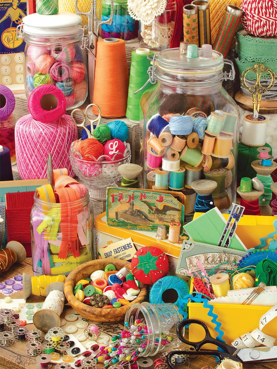 Fancy Facade Crafts & Textile Arts Jigsaw Puzzle