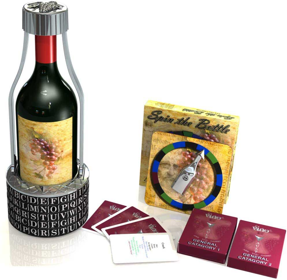 Vino Vault + Spin the Bottle