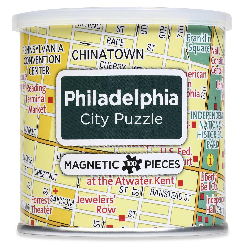 City Magnetic Puzzle Philadelphia Cities Jigsaw Puzzle
