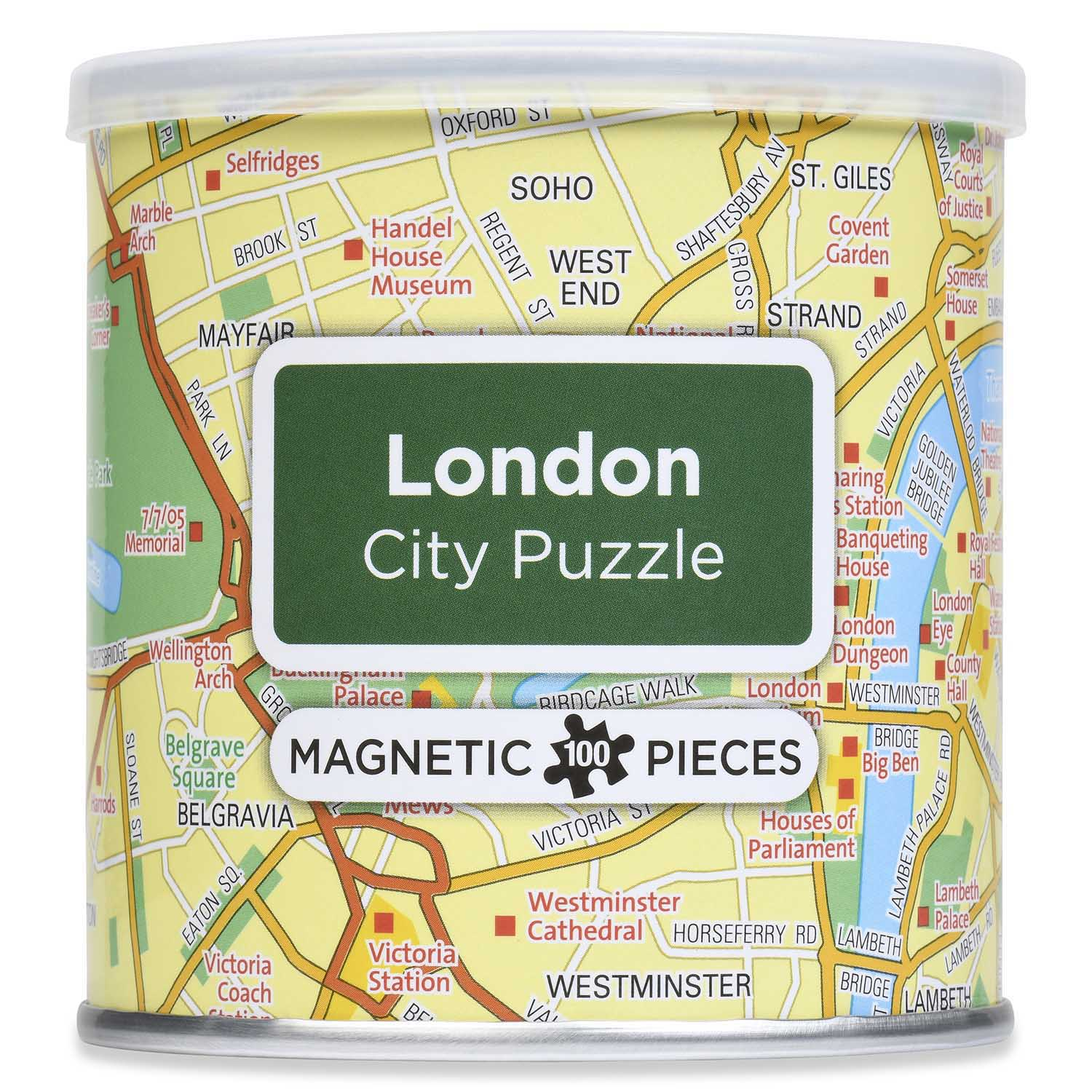 City Magnetic Puzzle London Maps / Geography Jigsaw Puzzle