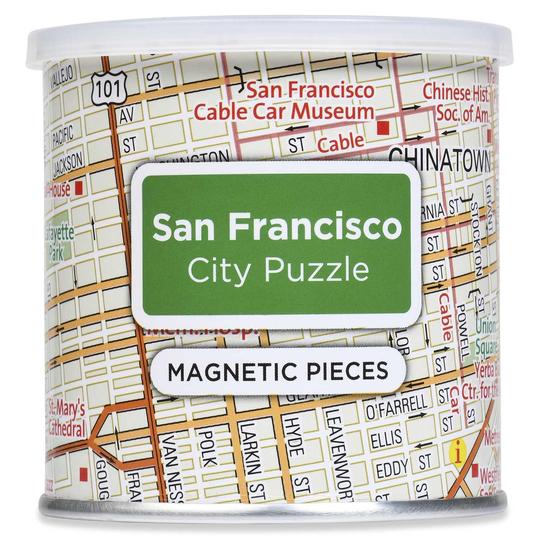 City Magnetic Puzzle San Francisco San Francisco Jigsaw Puzzle