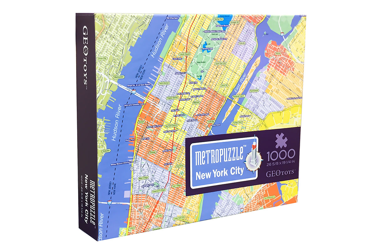 New York MetroPuzzle Travel Jigsaw Puzzle