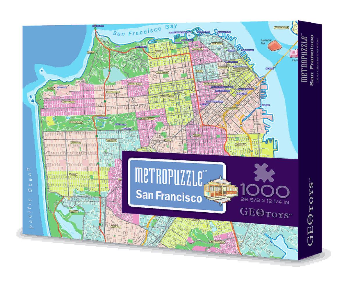 San Francisco Mypuzzle Jigsaw Puzzle PuzzleWarehousecom - Florida map jigsaw puzzle
