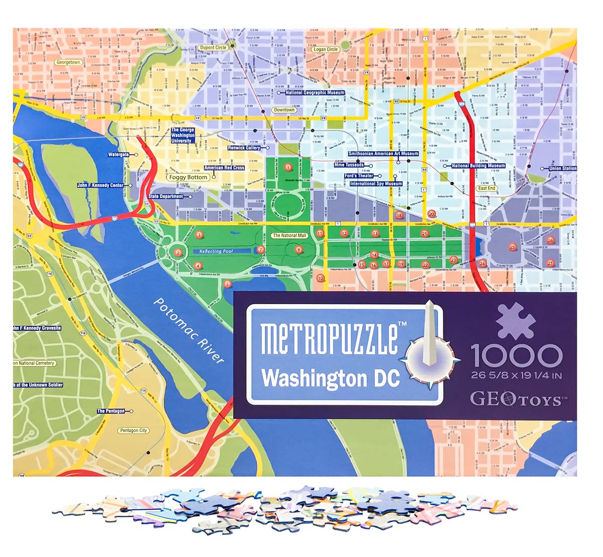 Washington, D C  MetroPuzzle