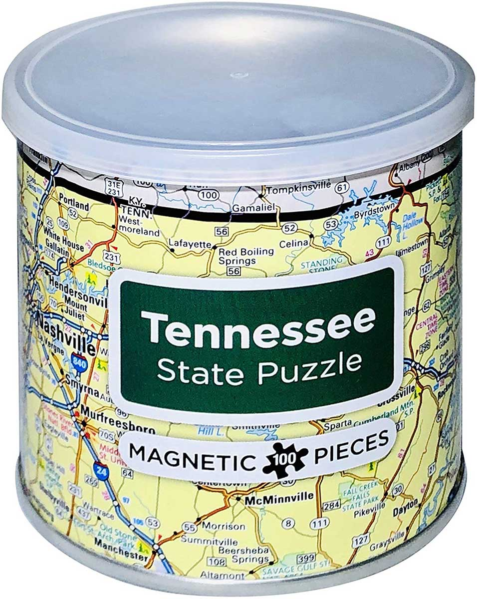 City Magnetic Puzzle Tennessee Cities Jigsaw Puzzle