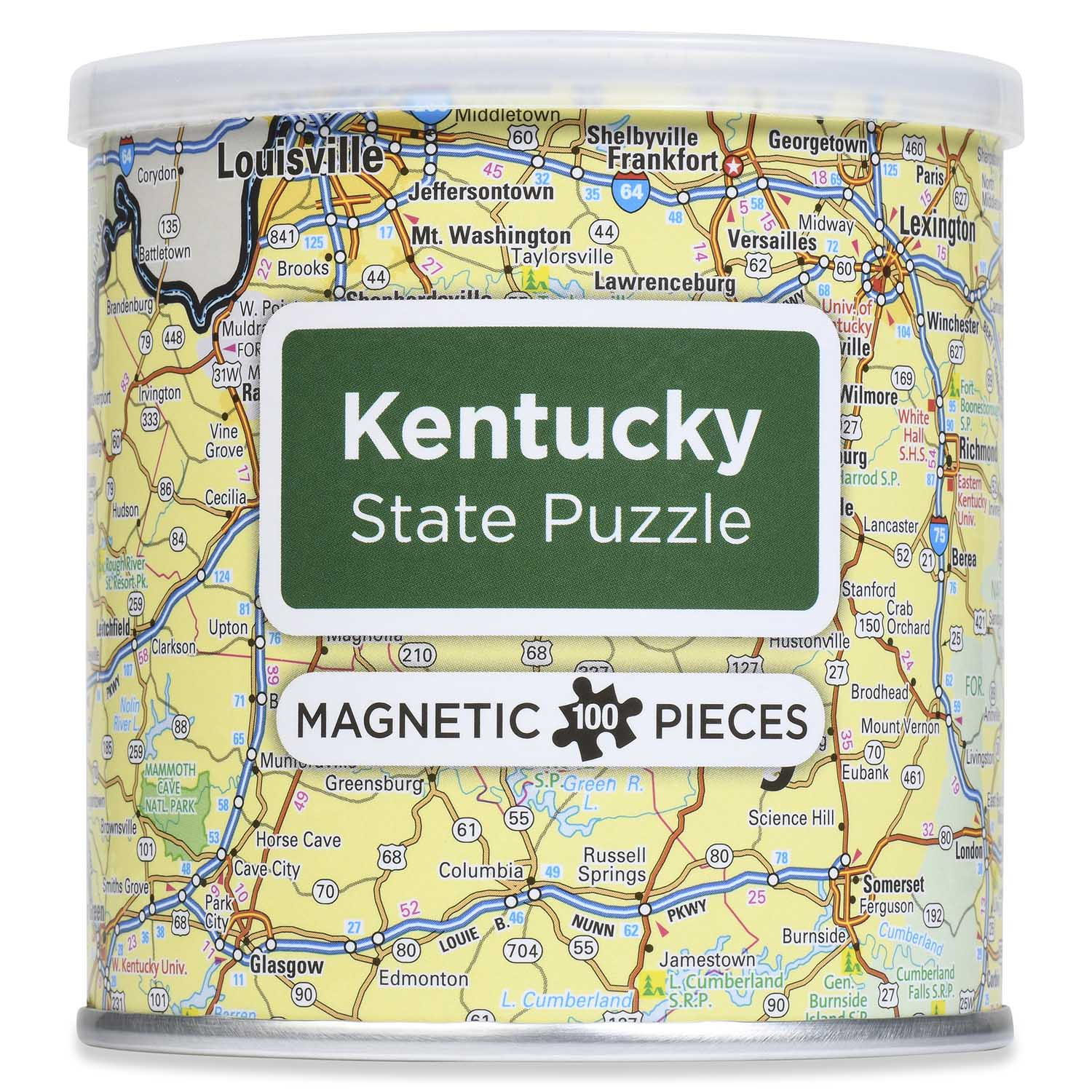 City Magnetic Puzzle Kentucky Cities Jigsaw Puzzle