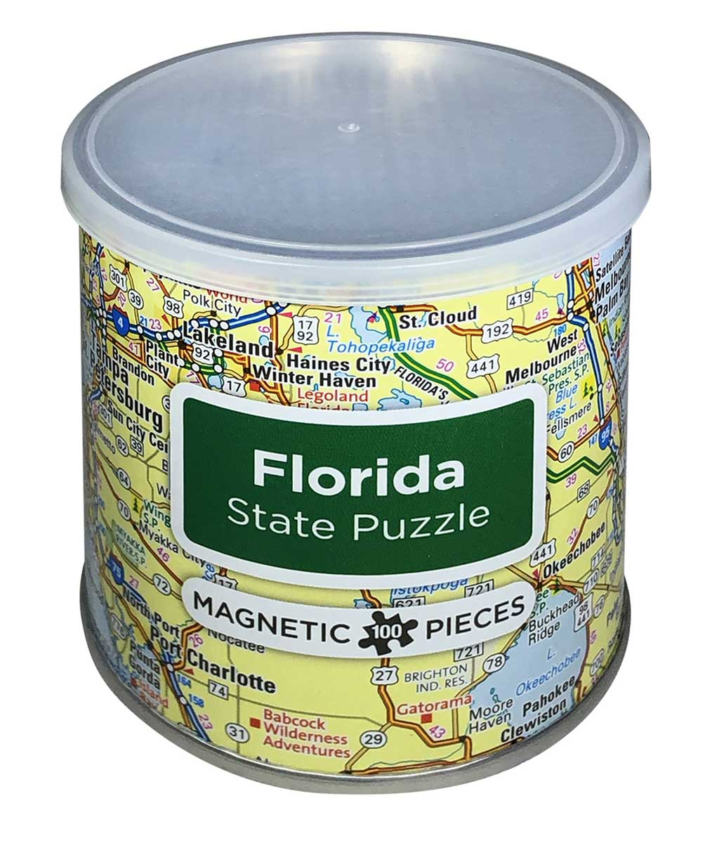 Magnetic Puzzle Florida Travel Jigsaw Puzzle