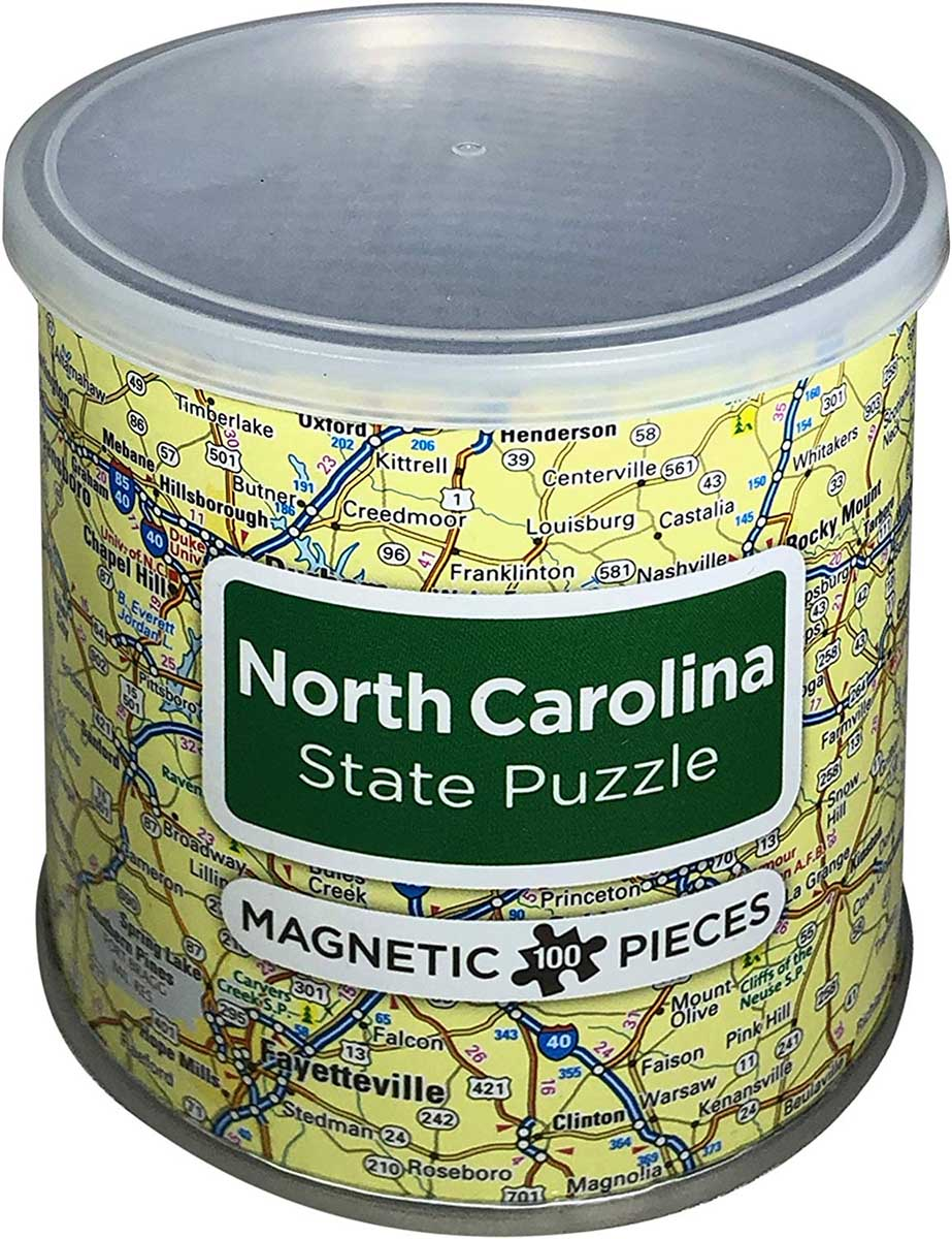Magnetic Puzzle North Carolina Travel Jigsaw Puzzle
