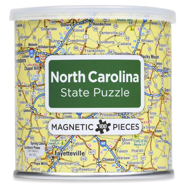 Magnetic Puzzle North Carolina Travel Jigsaw Puzzle
