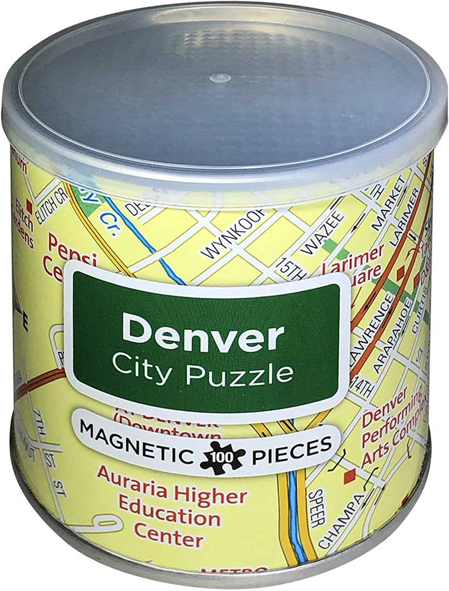 Magnetic Puzzle Denver Travel Jigsaw Puzzle