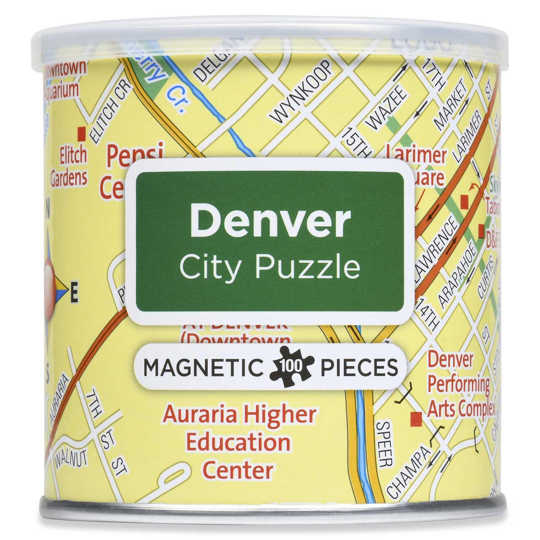 Magnetic Puzzle Denver Travel Jigsaw Puzzle