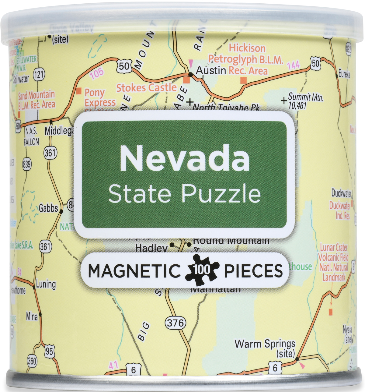 Magnetic Puzzle - Nevada Maps / Geography Jigsaw Puzzle