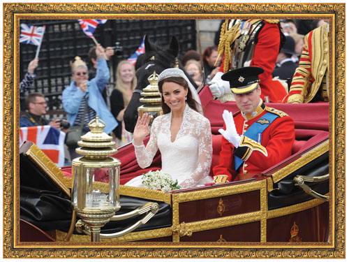 Royal Wedding Famous People Jigsaw Puzzle