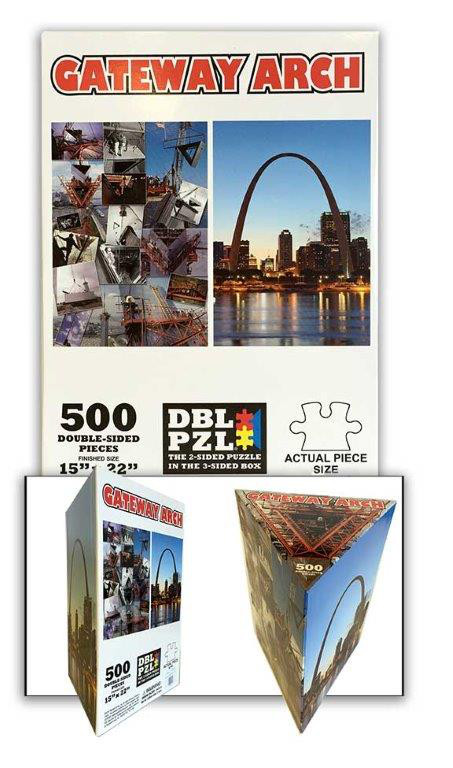 Gateway Arch Landmarks / Monuments Jigsaw Puzzle