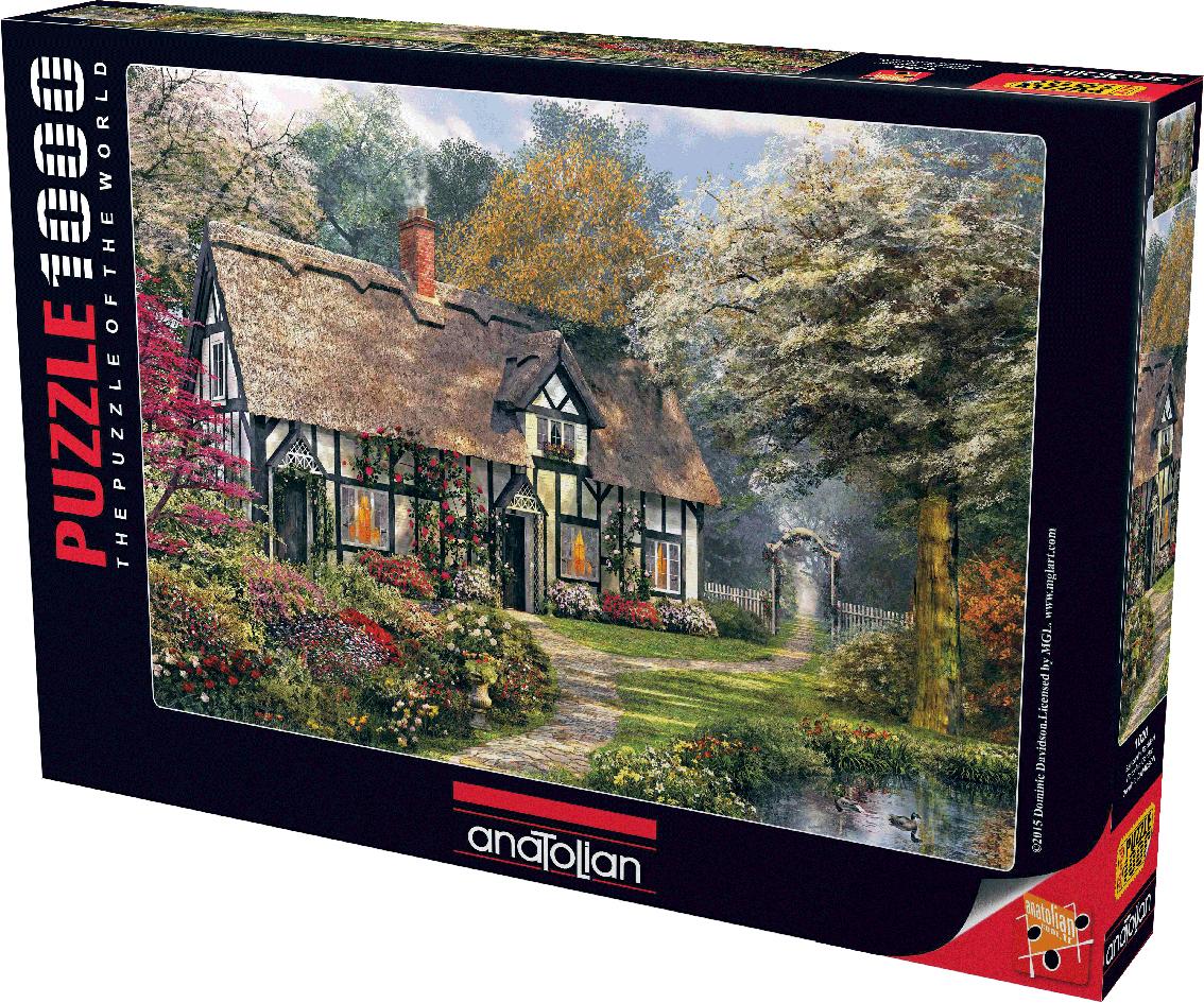 Victorian Garden Garden Jigsaw Puzzle