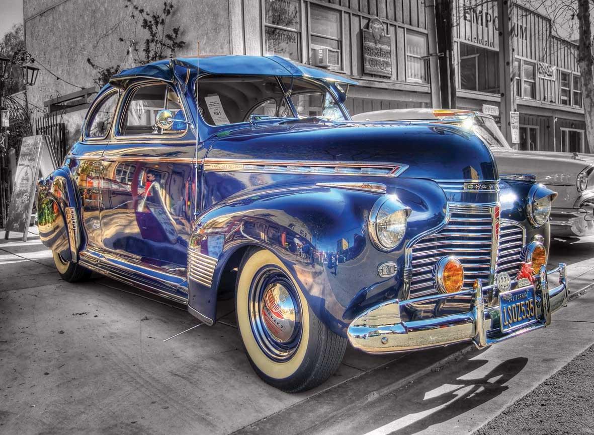 Oldschool Cars Jigsaw Puzzle