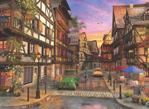 Colmar Street Street Scene Jigsaw Puzzle