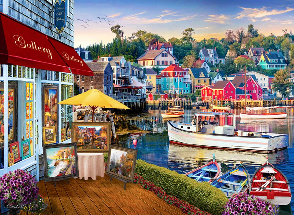 Harbour Gallery Boats Jigsaw Puzzle