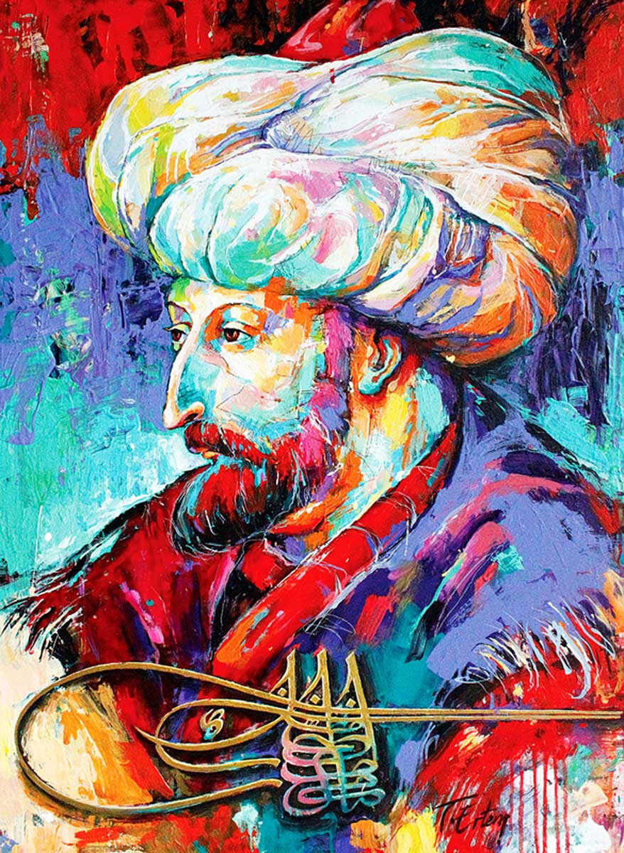 Faith Sultan MeHmet Fine Art Jigsaw Puzzle