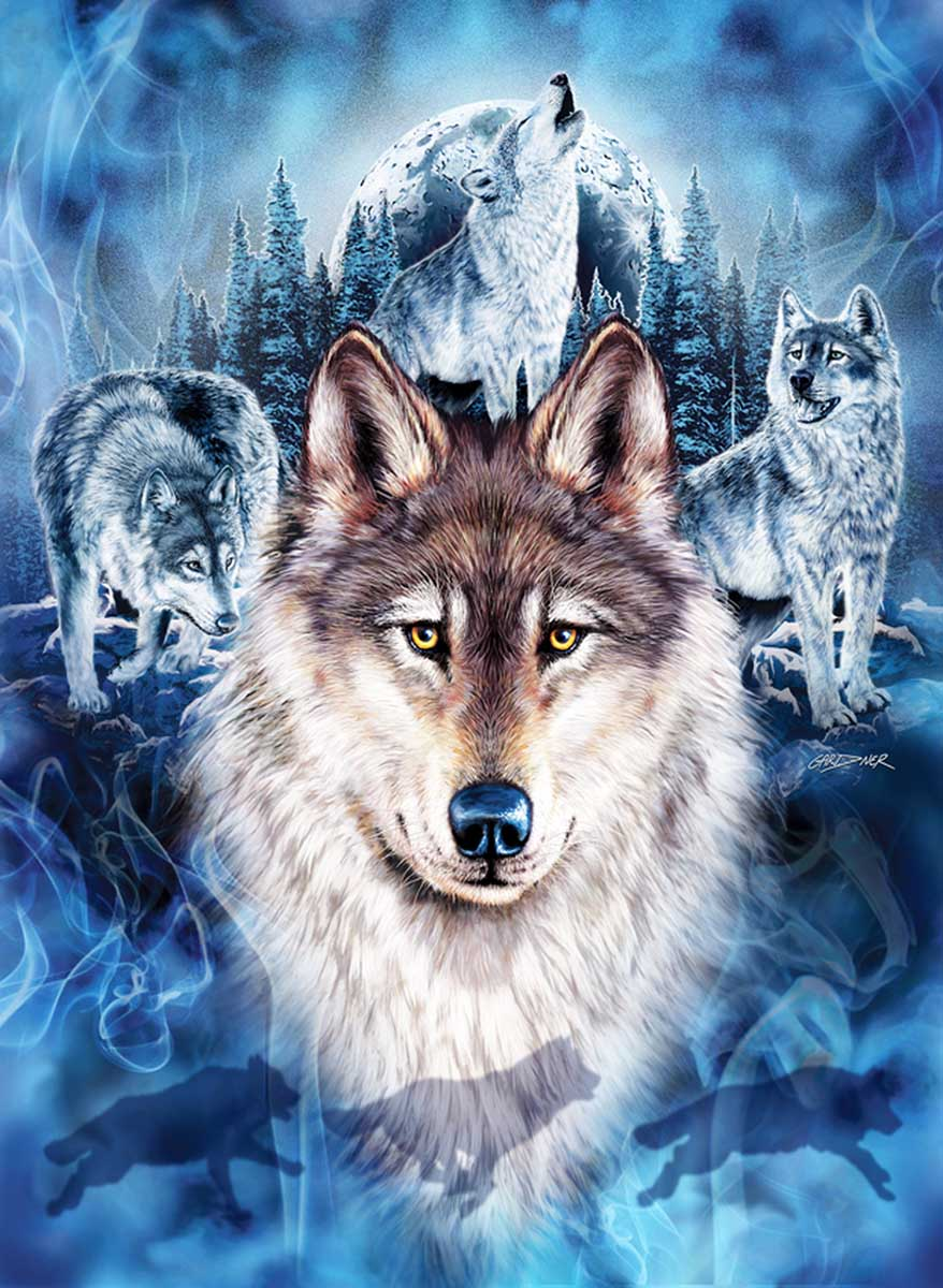 Wolf Team Wolves Jigsaw Puzzle