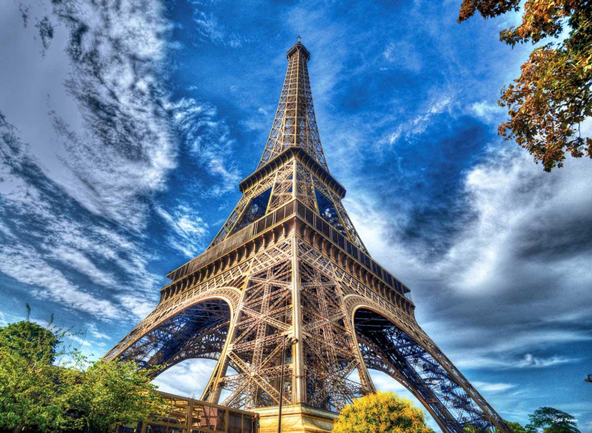 Eiffel France Jigsaw Puzzle