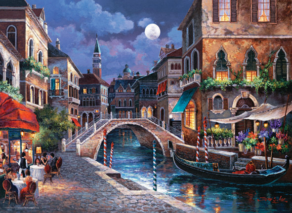 Streets of Vinize II Italy Jigsaw Puzzle