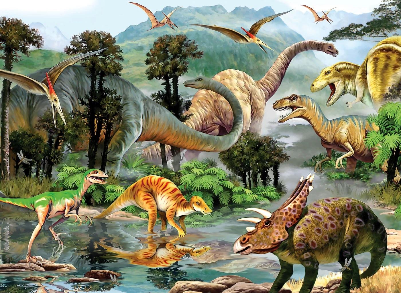 Dino Valley 2 Dinosaurs Jigsaw Puzzle