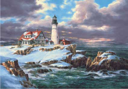 Portland head Lighthouse Lighthouses Jigsaw Puzzle