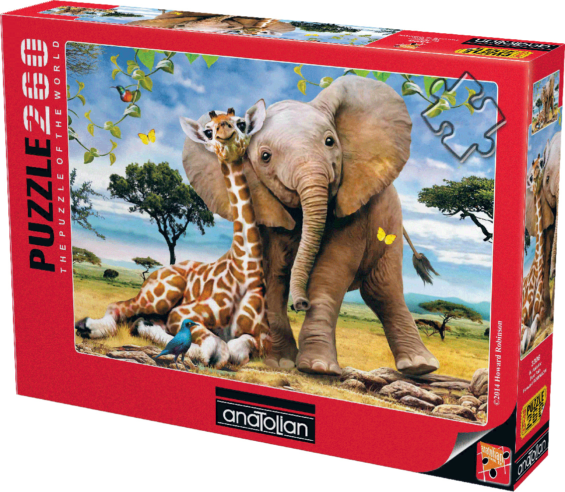 Best Pals Jungle Animals Jigsaw Puzzle