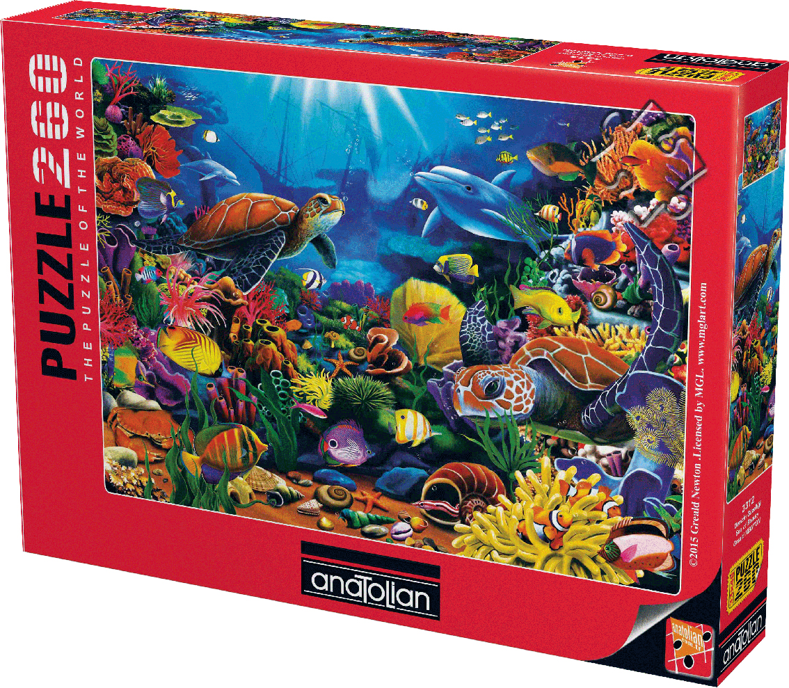 Sea Of Beauty Under The Sea Jigsaw Puzzle
