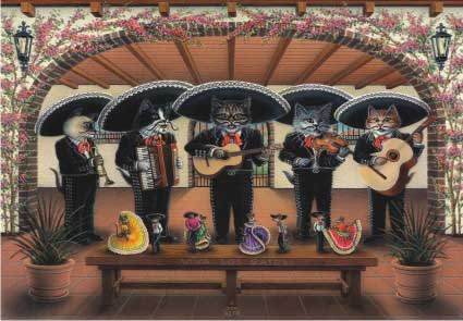 Mariachi Meowsic Cats Jigsaw Puzzle